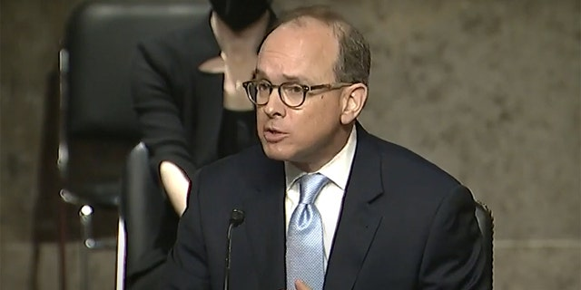 Judge Cory Wilson was confirmed to the Fifth Circuit Court of Appeals on Wednesday. (Sen. Chris Coons/Youtube)