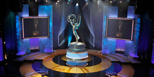 A view of the stage appears at the 37th annual Daytime Emmy Awards in Las Vegas.