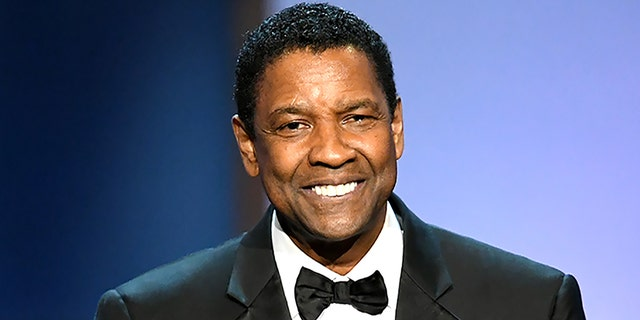 Honoree Denzel Washington speaks onstage during the 47th AFI Life Achievement Award