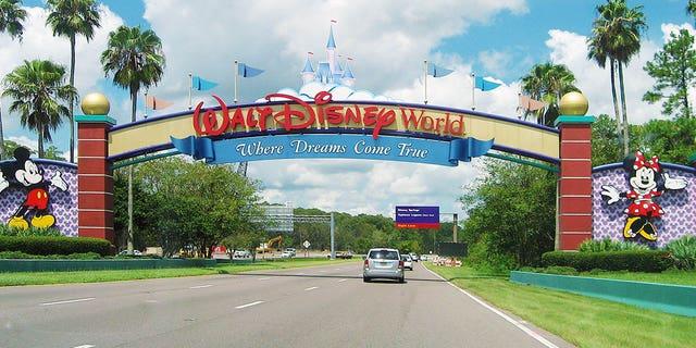 An entrance of Walt Disney World Resort in Lake Buena Vista, Florida on August 19, 2015 (iStock)