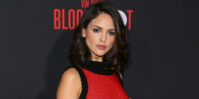 Eiza Gonzalez attends the premiere of Sony Pictures' 'Bloodshot' on March 10, 2020 in Los Angeles, California. (Photo by Jean Baptiste Lacroix/WireImage)