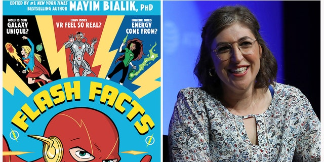 'Big Bang Theory' actress Bialik is teaming with DC Entertainment on a project that joins superhero power to the power of science.