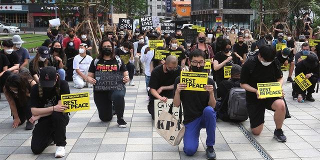 [Newsmaker] US Embassy in Seoul shows support for Black Lives Matter movement