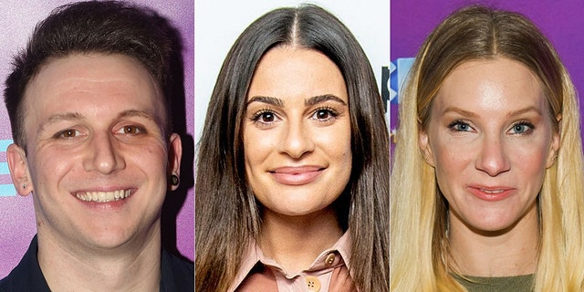 Lea Michele, center, was hit with more bad behavior claims from 'Glee' as well as her Broadway co-stars following her public apology.