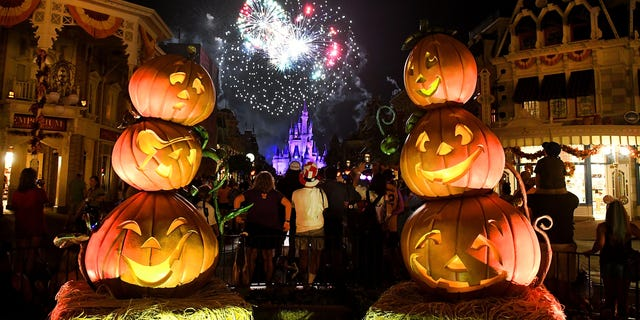 Even Disney World in Florida has canceled its Halloween party this year. (Gerardo Mora/Getty Images)