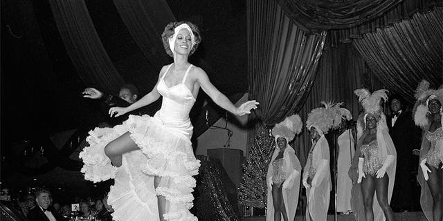 Mercedes Ellington, Duke Ellington's daughter at a performance in 1975.