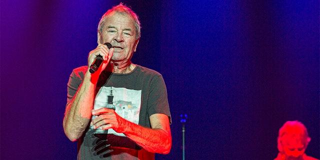 Vocalist Ian Gillan of Deep Purple performs on stage at Pechanga Casino on September 06, 2019, in Temecula, California.