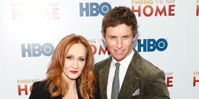 Eddie Redmayne joins Daniel Radcliffe in opposing JK Rowling's trans comments