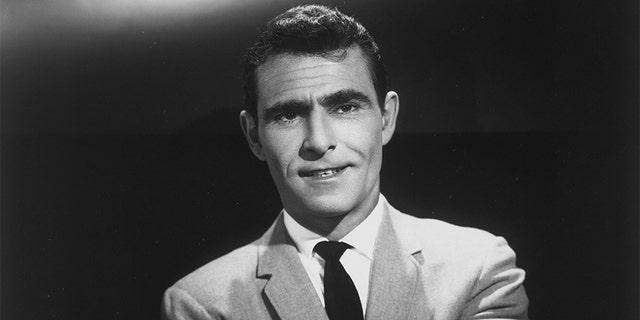 Host Rod Serling of 'The Twilight Zone.'