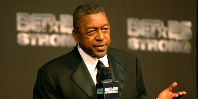 Robert L. Johnson, BET Founder, at BET's 25th Anniversary. (File photo by L. Cohen/WireImage for BET Network)
