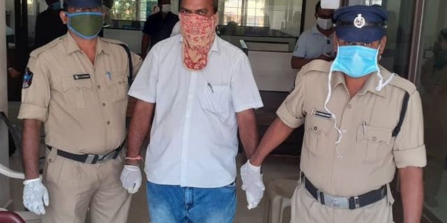 C. Bhaskar has been charged will allegedly attacking an employee who asked him to wear a mask.