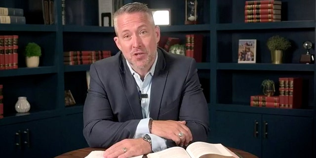 Southern Baptist Convention President J.D. Greear gave the annual address via Facebook Live due to coronavirus restrictions on public gatherings. (Facebook/J.D. Greear)