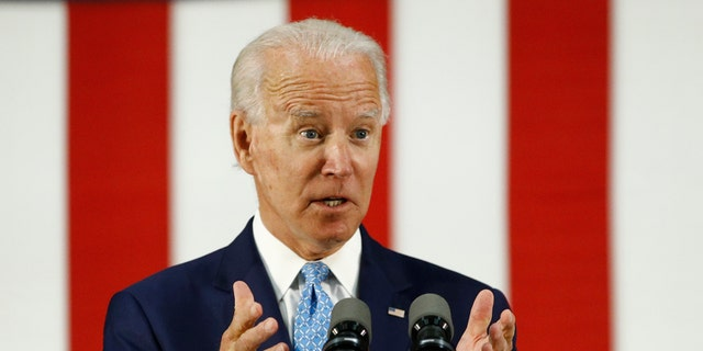 Democratic presidential candidate, former Vice President Joe Biden, speaks Tuesday, June 30, 2020, in Wilmington, Del. Biden, through his campaign, has proposed over $8 trillion in new spending. (AP Photo/Patrick Semansky)