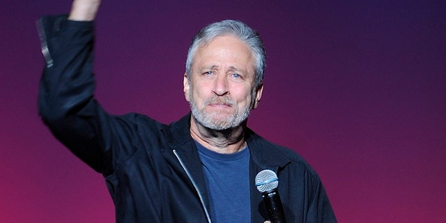 """Jon Stewart admitted that Joe Biden was not his first choice, and doesn't care for his """"Uncle Joe"""" shtick, but will support him against President Trump in November. (Photo by Brad Barket/Invision/AP)"""