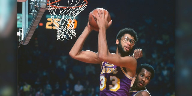 Kareem Abdul-Jabbar comes in at No. 4. (Photo by Focus on Sport/Getty Images)