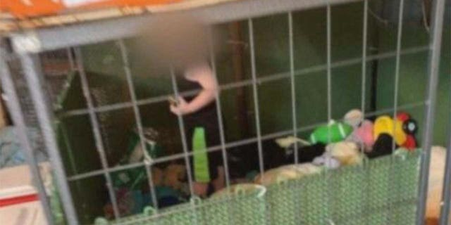 Deputies found an 18-month-old boy  child was found inside of a dog cage after being called to a Tennessee property for a report of animal abuse, according to reports.