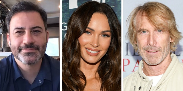 Jimmy Kimmel and Michael Bay were skewered on social media after an old Megan Fox interview resurfaced.