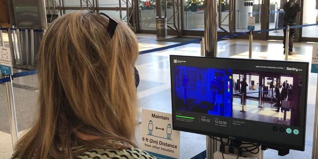 The thermal imaging technology is part of a new Terminal Wellness Project launched by L.A. Mayor Eric Garcetti and Los Angeles World Airports (LAWA) to combat the spread of coronavirus.
