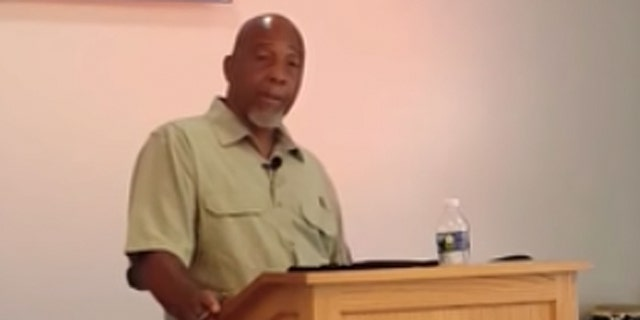 Pastor Leon K. McCray Sr. preaches a June 7 sermon describing how he was arrested after calling 911 and brandishing his legal concealed carry after being threatened by five white people.