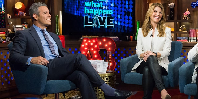 Andy Cohen and Lori Loughlin on 'Watch What Happens Live.'