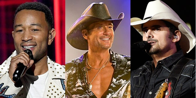 John Legend, Tim McGraw and Brad Paisley will perform at the 2020 'Macy's Fourth of July Fireworks Spectacular.'