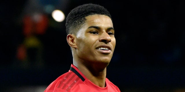 Rashford successfully pressed the government to provide free meals for needy students over the summer holidays. (AP Photo/Rui Vieira, File)