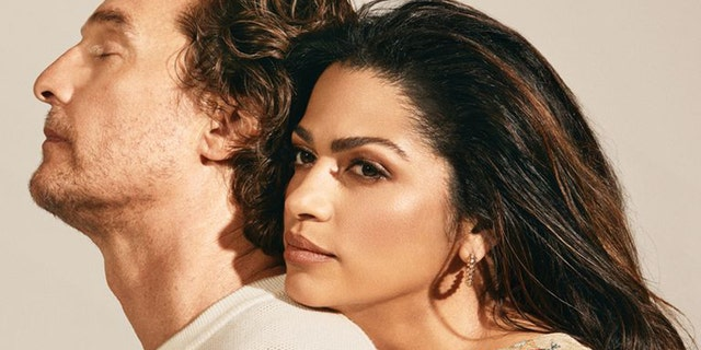 Matthew and Camila Alves McConaughey discussed their Just Keep Livin' Foundation with Town and Country.