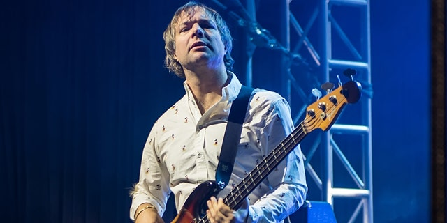 Musician/bassist Mickey Madden of Maroon 5 performs during Philly Fights Cancer: Round 4 at The Philadelphia Navy Yard on November 10, 2018, in Philadelphia, Penn. (Photo by Gilbert Carrasquillo/Getty Images)