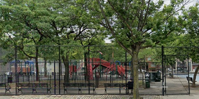 Middleton playground in Brooklyn's Williamsburg section.