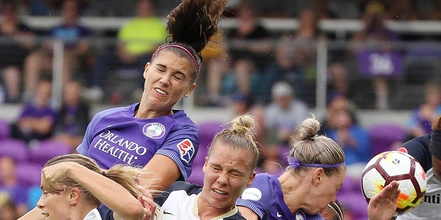 The Orlando Pride will be the lone team not participating in the Challenge Cup. (Stephen M. Dowell/Orlando Sentinel via AP, File)