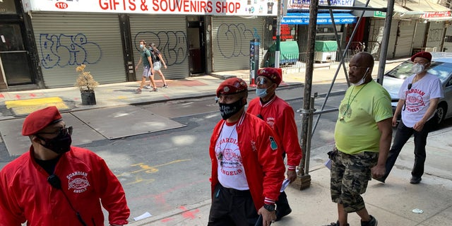 Guardian Angels patrolling the streets as riots continue in New York City