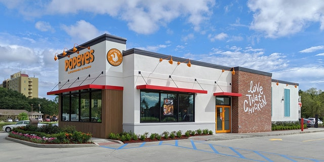 In Marrero, La., Popeyes has opened its first remodeled restaurant.