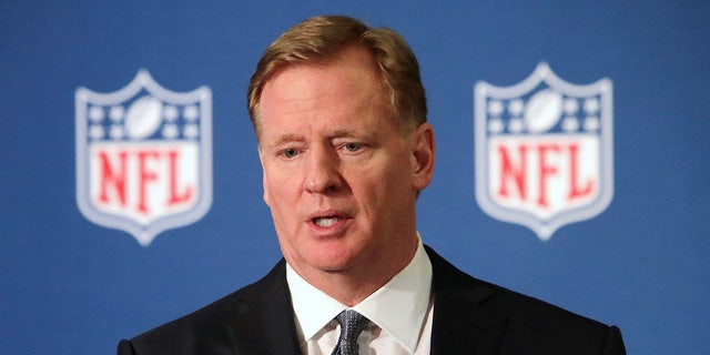 NFL Commissioner Roger Goodell has had to manage uncharted waters of the coronavirus pandemic ahead of the 2020 season. (AP Photo/LM Otero, File)