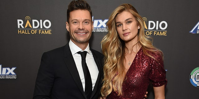 Inductee Ryan Seacrest and Shayna Taylor attend the Radio Hall of Fame Class of 2019 Induction Ceremony at Gotham Hall on November 08, 2019, in New York City. (Photo by Michael Kovac/Getty Images for Radio Hall of Fame)