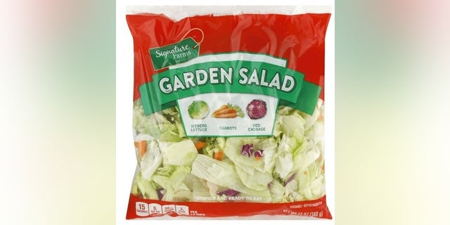 The recalled salad.