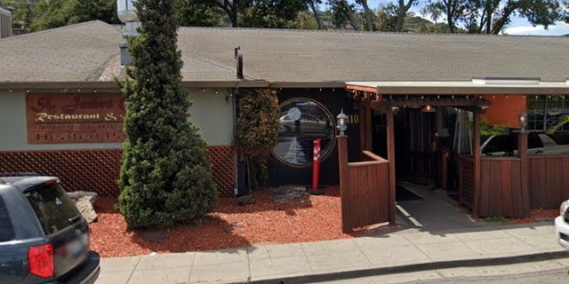 The incident reportedly occurred on June 19 at the St. James Gate bar and restaurant in Belmont, Calif., pictured.