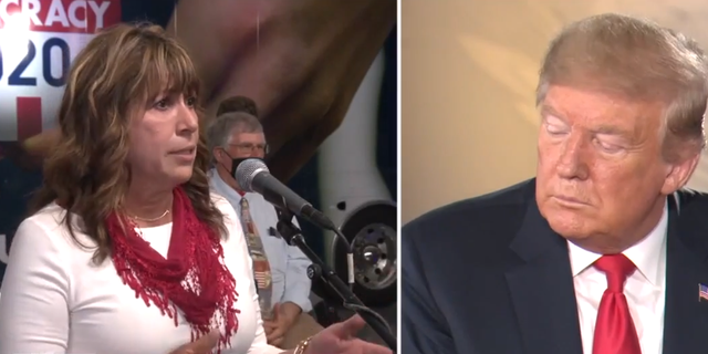 An audience member in Green Bay, Wis., asks President Trump what he believes has been his greatest accomplishment.