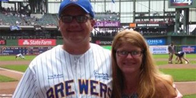 La Crosse Mayor Tim Kabat and his wife Christy.