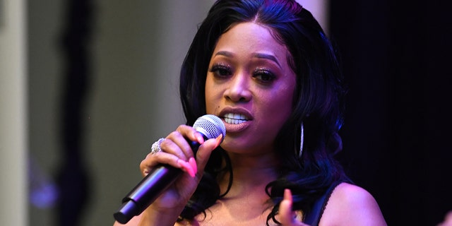 Rapper Trina attends Tune Chats - Honoring Trina on July 11, 2019, in Atlanta, Ga.(Photo by Prince Williams/Wireimage)