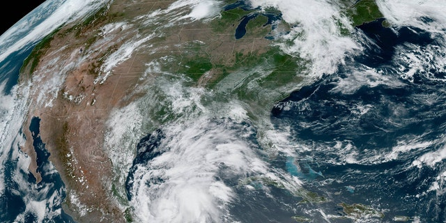 Tropical Storm Cristobal developed Tuesday in the Gulf of Mexico.