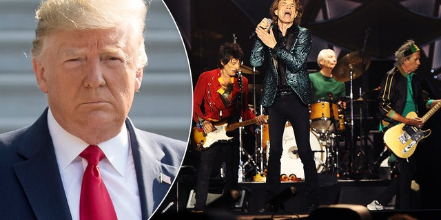 The Rolling Stones have threatened to take legal action against Trump over the use of their songs at his campaign rallies.
