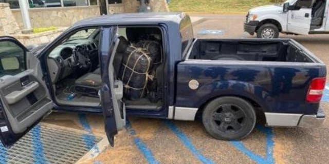 Border agents in Texas discovered 300 lbs. worth of marijuana from an abandoned SUV near the Mexico border.