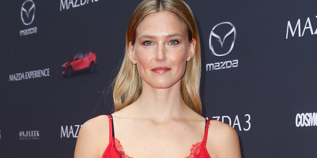 BERLIN, GERMANY - MAY 23: Model Bar Refaeli attends the Mazda Spring Cocktail at Sony Centre on May 23, 2019 in Berlin, Germany.