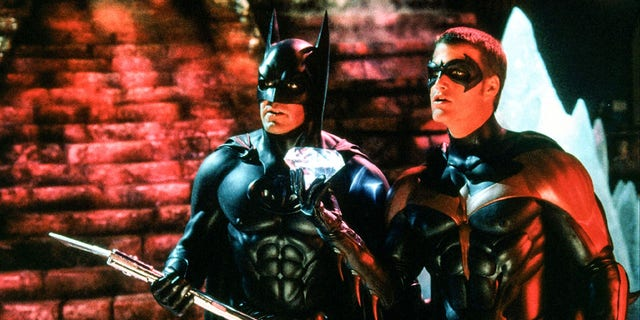 Seeing George Clooney as Batman, Chris O'Donnell played Robin in 1997's 'Batman and Robin' directed by Joel Schumache.