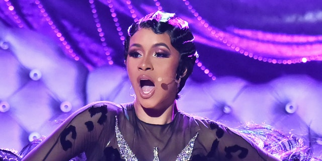 Cardi B performs onstage during the 61st Annual GRAMMY Awards at Staples Center on February 10, 2019 in Los Angeles, California