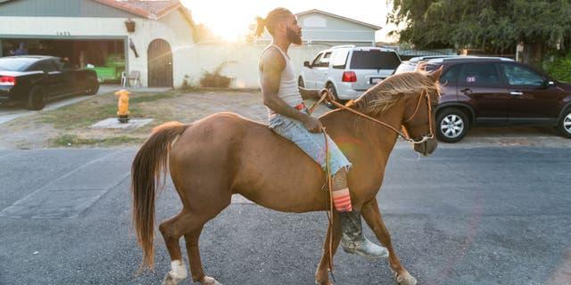 Keenan rides through Compton