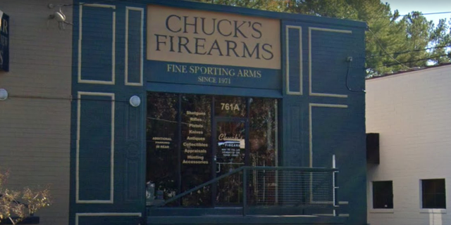 Westlake Legal Group chucks-firearms Dozens of guns stolen from Atlanta store during looting, owner says Greg Norman fox-news/us/us-regions/southeast/georgia fox-news/us/crime fox-news/us/atlanta fox-news/person/george-floyd fox news fnc/us fnc article 1799893d-7559-5dbc-a459-aa95a90ca730