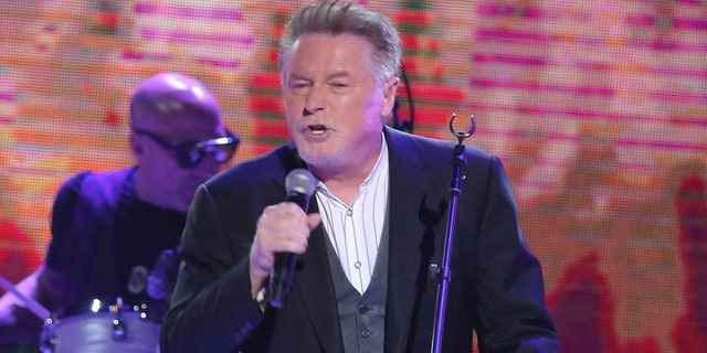 """Don Henley performs at """"All In For The Gambler: Kenny Rogers' Farewell Concert Celebration"""" at Bridgestone Arena in Nashville, Tenn."""