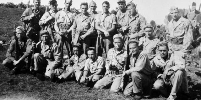 Members of the 40 Thieves in Hawaii.