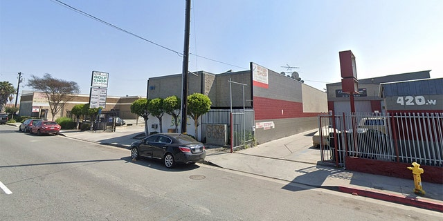 Andres Guardado, 18, was working at the Freeway auto body shop as a private security guard, where he was shot to death by LASD deputies on Thursday night.